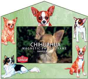 Chihuahua Decorative Picture Frame