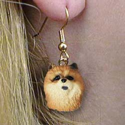 Chow Chow Authentic Earrings