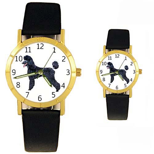 Poodle Watch Black