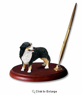 Bernese Mountain Dog Pen Holder