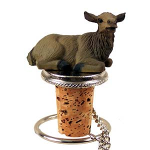 Elk Bottle Stopper (Cow)