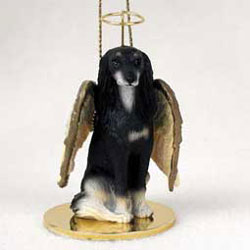 Saluki Christmas Ornament Angel