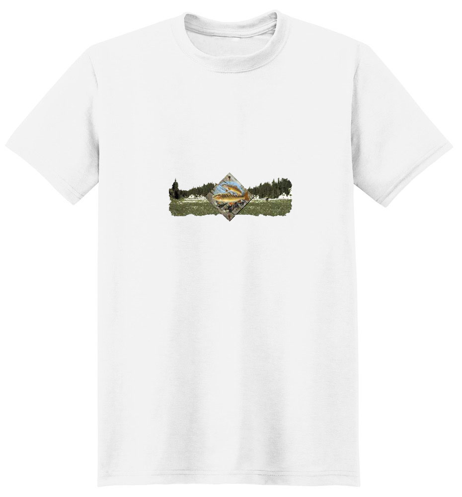 Trout T-Shirt - Scenic