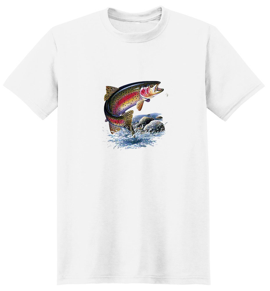 Trout T-Shirt - Jumping