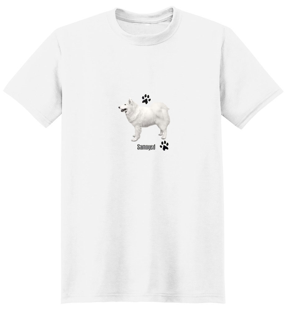 Samoyed T-Shirt - Profiles