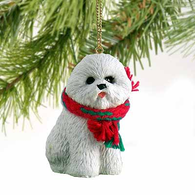 Bichon Frise Tiny One Christmas Ornament