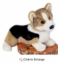 Corgi Plush Tri Color