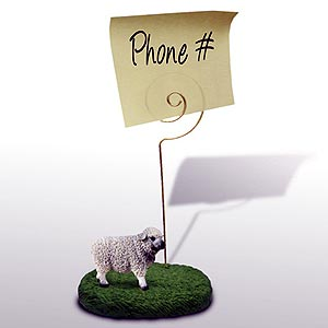 Sheep Note Holder
