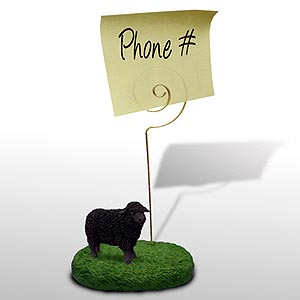 Sheep Note Holder (Black)