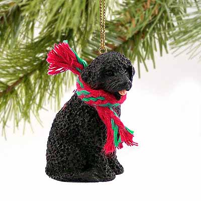 Portuguese Water Dog Tiny One Christmas Ornament
