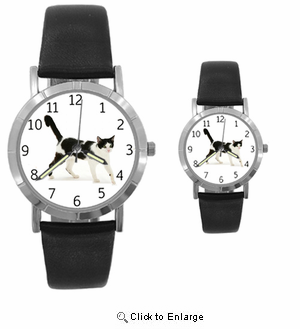 Black And White Cat Watch