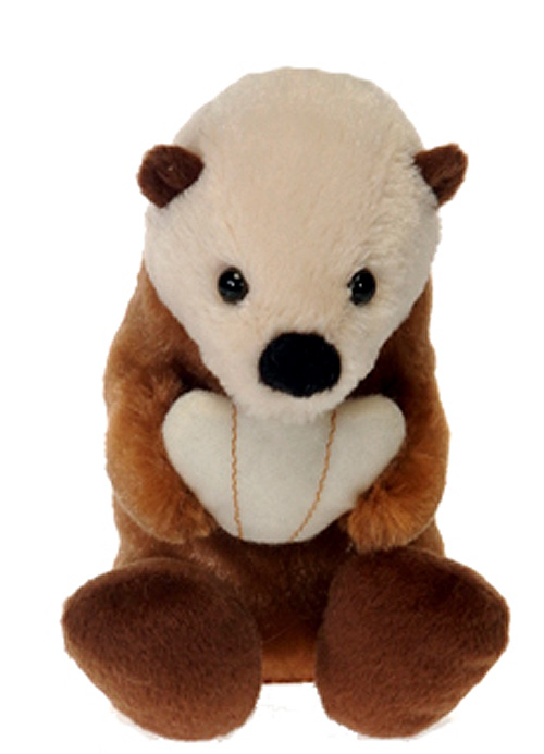Bean Bag Baby Sea Otter Plush Stuffed Animal 5.5
