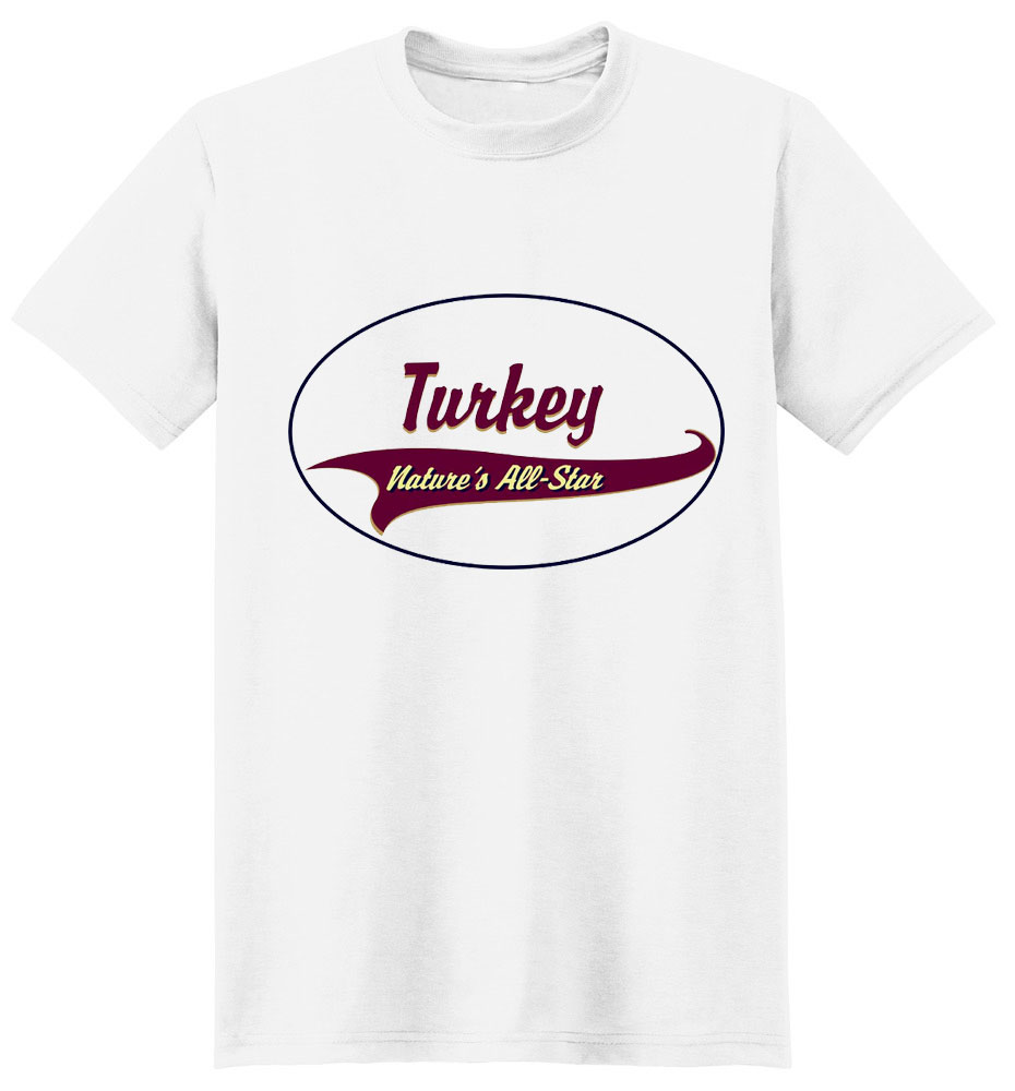Turkey T-Shirt - Breed of Champions