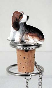 Basset Hound Bottle Stopper