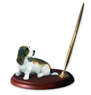 Basset Hound Pen Holder