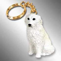Great Pyrenees Keychain