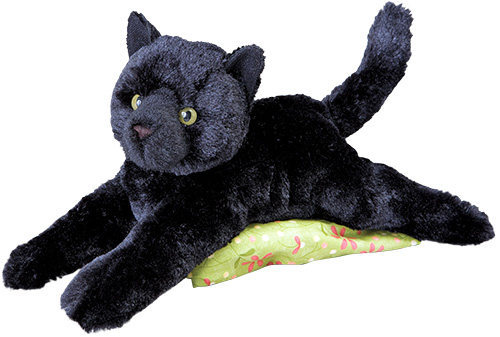 Black Cat Plush Stuffed Animal