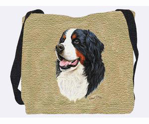 Bernese Mountain Dog Tote Bag