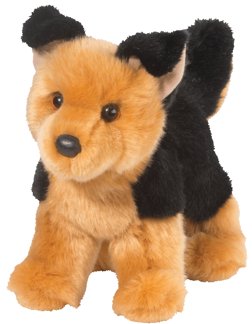 Rhea German Shepherd 10� Stuffed Plush Animal
