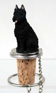 Bouvier des Flandres Bottle Stopper