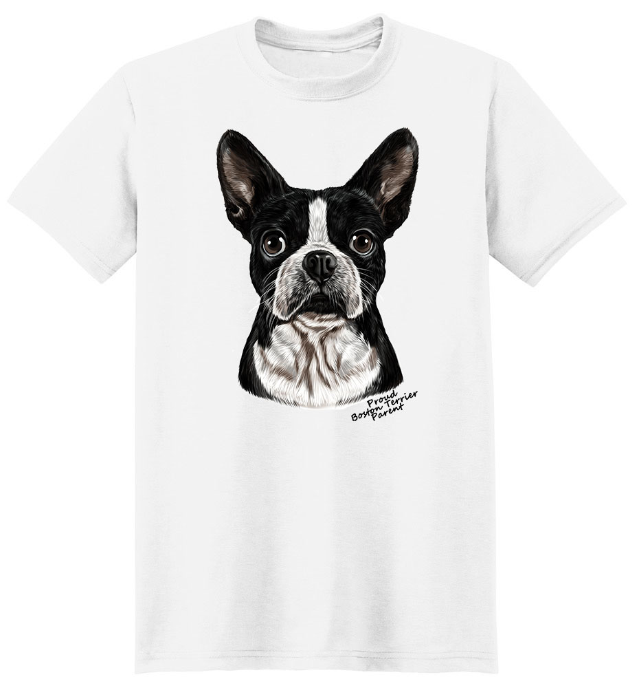Boston Terrier T Shirt - Proud Parent