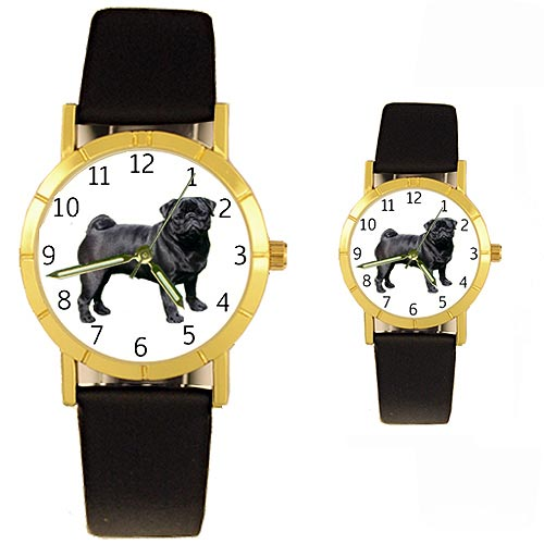 Pug Watch Black