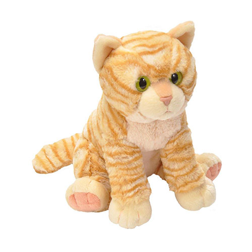 Orange Tabby Cuddlekins Plush Animal 12