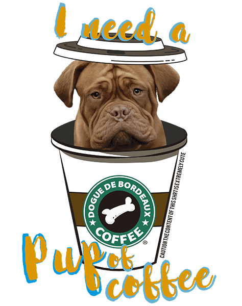 Dogue De Bordeaux T Shirt - Coffee Mug