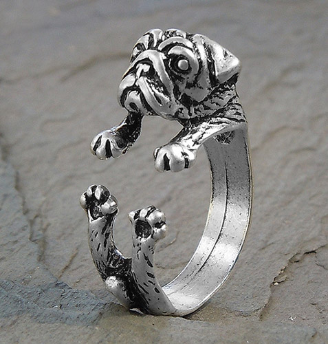 Adjustable Wrap Pug Ring