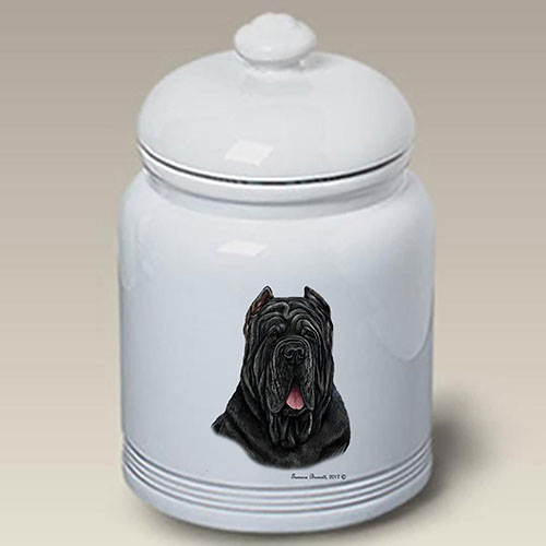 Neapolitan Mastiff Treat Jar