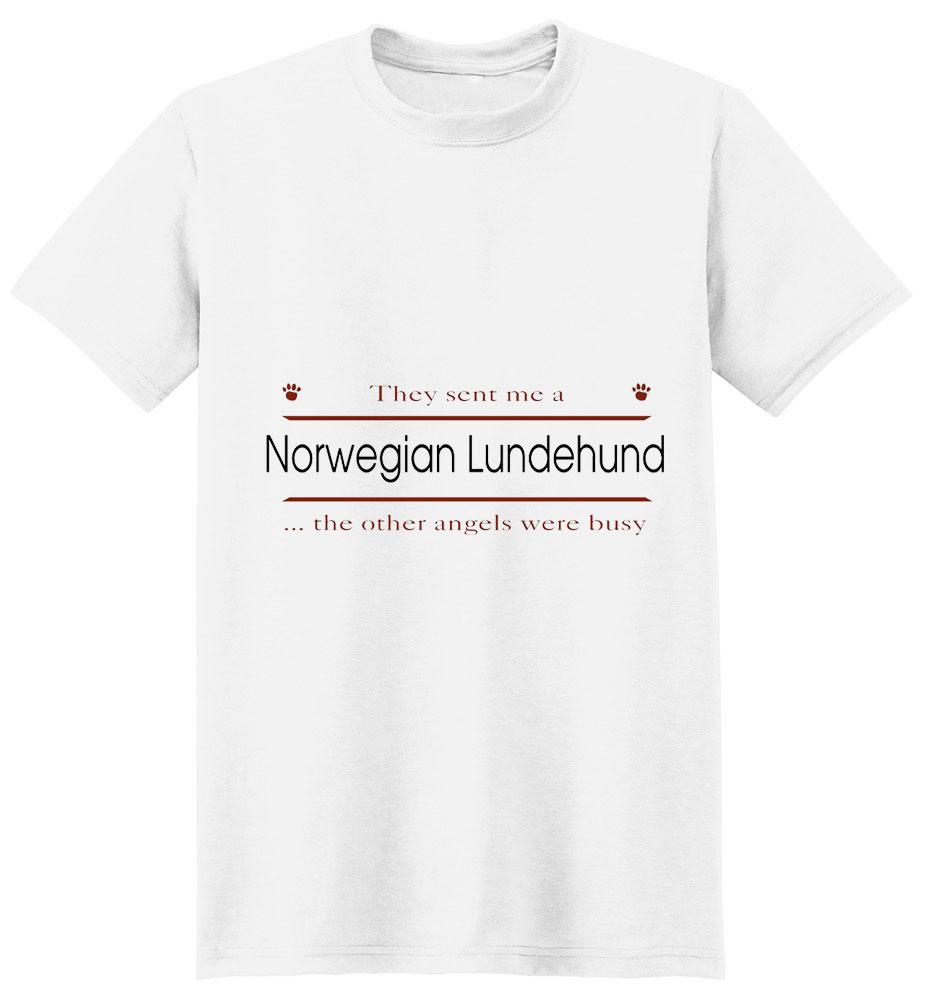 Norwegian Lundehund T-Shirt - Other Angels