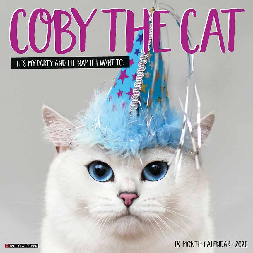2020 Coby the Cat Calendar Willow Creek
