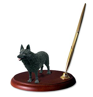 Schipperke� Pen Holder