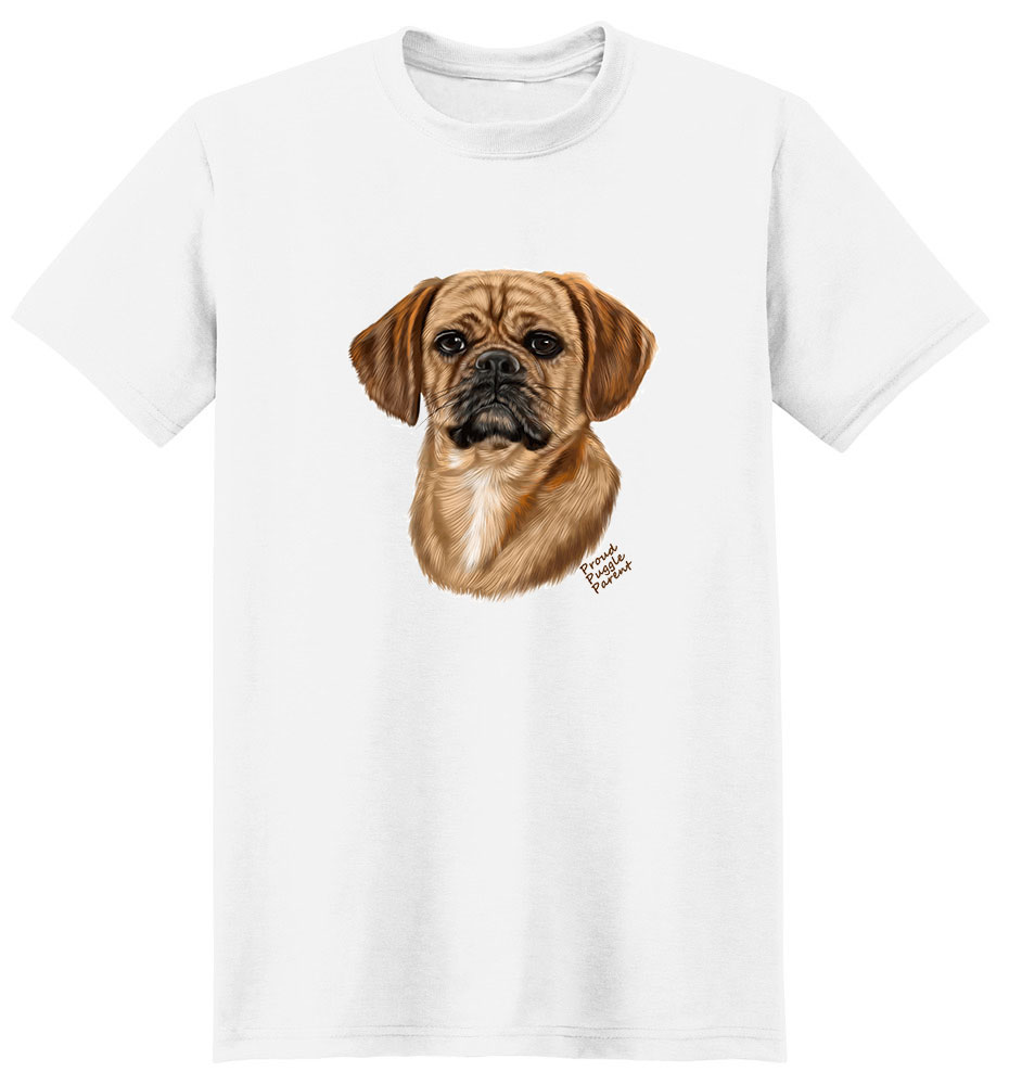 Puggle T Shirt - Proud Parent