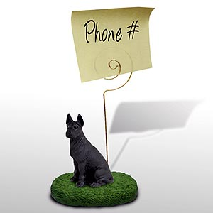 Great Dane Note Holder