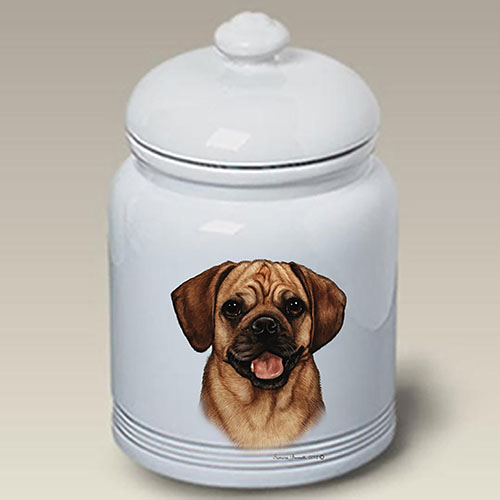 Puggle Treat Jar