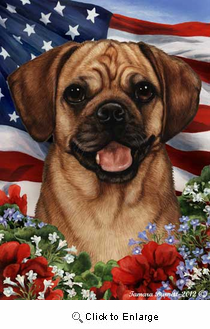Puggle House Flag