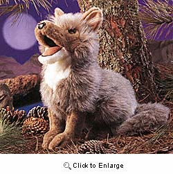 Coyote Puppet