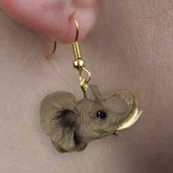 Elephant Authentic Earrings