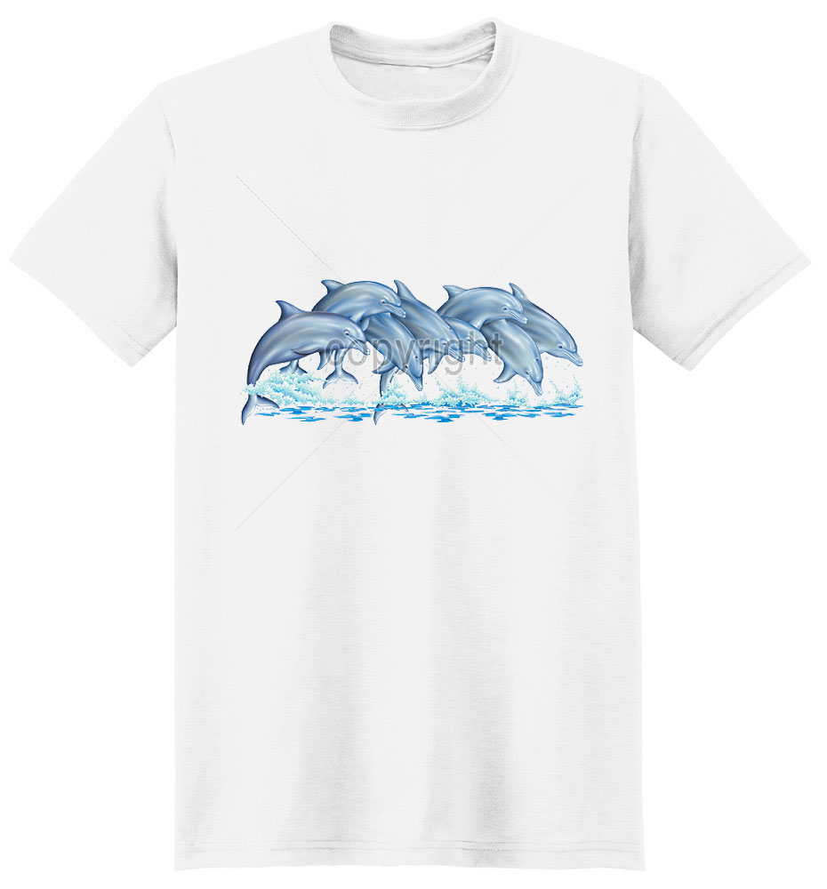 Dolphin T Shirt With The Pod