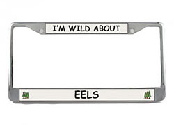 Eel License Plate Frame
