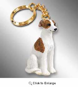 Whippet Keychain