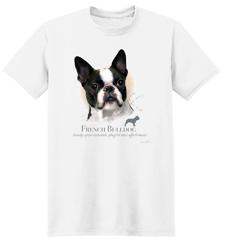 French Bulldog T Shirt by Howard Robinson
