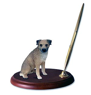 Border Terrier Pen Holder