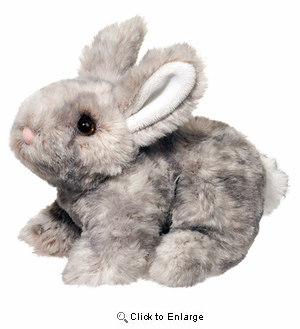 "Rabbit Plush Stuffed Animal ""Tyler"" 7"""