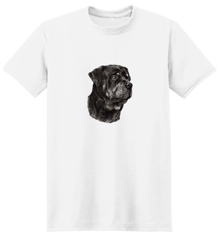 Rottweiler T-Shirt - Eye Catching Detail