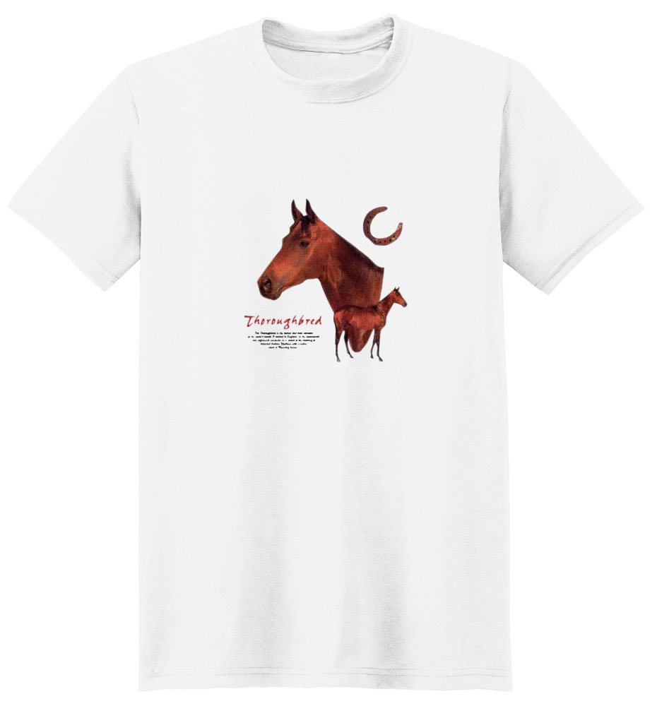 Thoroughbred Horse T-Shirt - Facts
