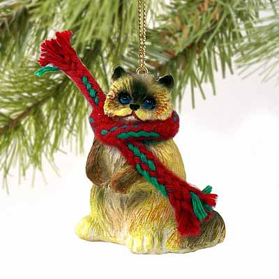 Ragdoll Cat Tiny One Christmas Ornament