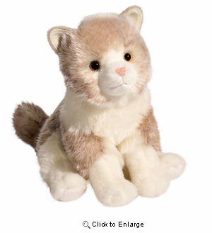 Ragdoll Cat Plush Stuffed Animal 12""