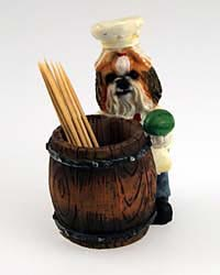 Shih Tzu Toothpick Holder